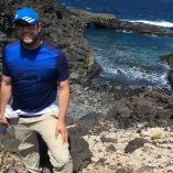 WG Parker during fieldwork (Tenerife, Canary Islands, 2016)