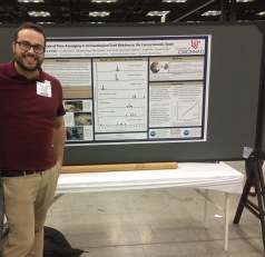 WG Parker presenting research at GSA 2018 (Indianapolis, IN)